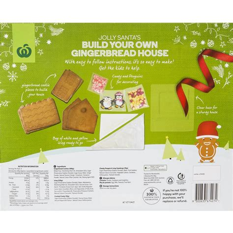 woolworth house insurance woolworths diy gingerbread house kit 755g woolworths