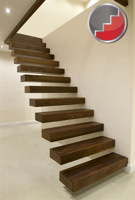 floating stairs floating staircases black walnut floating staircase