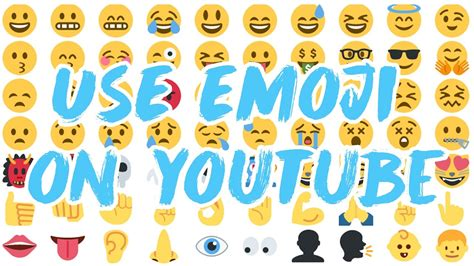 emoji youtube emoji on youtube titles and text chung dha
