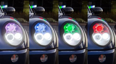how to wire halo lights to parking lights led angel eyes how to install halo headlights super