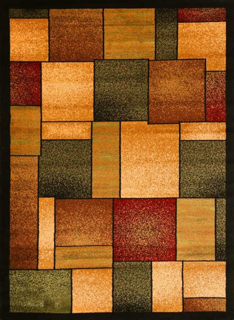 Modern Abstract Rugs 1794 Multi Area Rug Modern Contemporary Abstract Carpet Ebay
