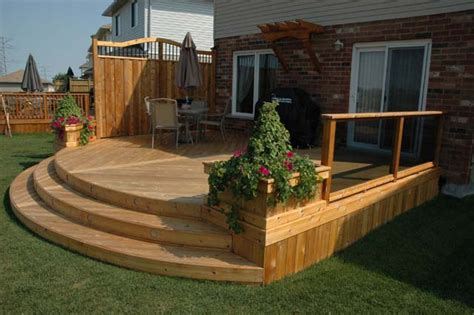How To Build Planter Boxes For Decks by Decorative Features