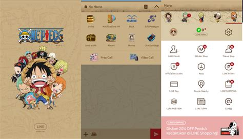 download theme line one piece android putra pak asep kumpulan tema theme line part4