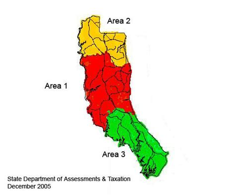 map of calvert county md calvert county reassessment areas