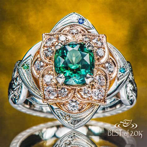 12 unique engagement rings from 2015 171 green lake jewelry