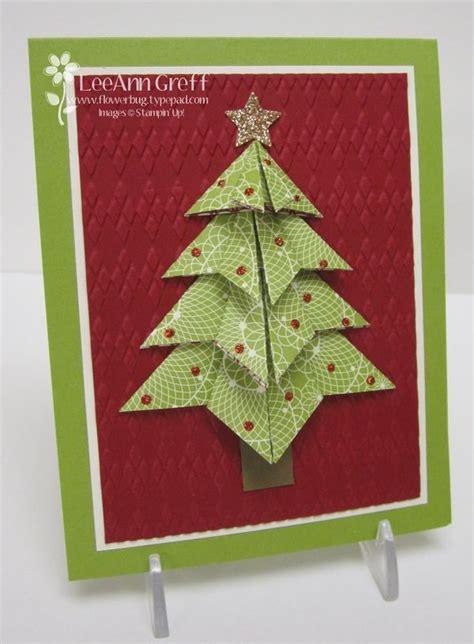 Origami Tree Card - origami tree flowerbug s inkspot