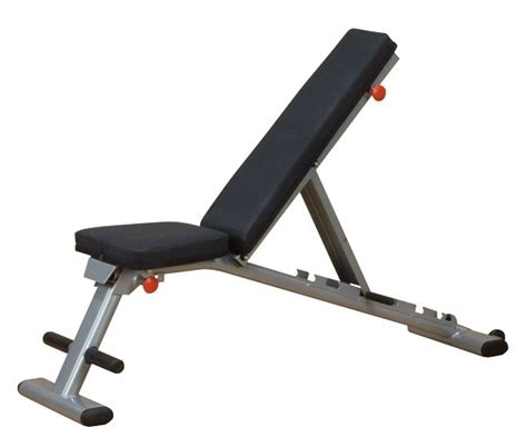 body solid gfid225 commercial folding adjustable weight bench