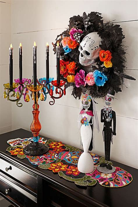 How To Decorate For Dia De Los Muertos by Dia De Sugar Skull Decor And Day Of The Dead On
