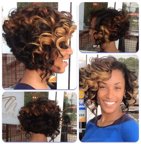 quick prom hairstyles with sewin curly bob sew in yelp hair to try pinterest curly