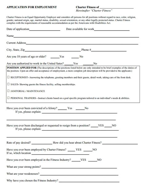 edible arrangements printable job application finding charter fitness job application form for