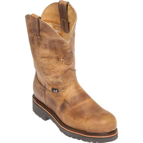 justin rugged gaucho justin s rugged gaucho steel toe work boots academy