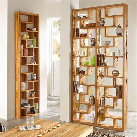 Raumteiler Aus Holz raumteiler woody teak holz standregale regale