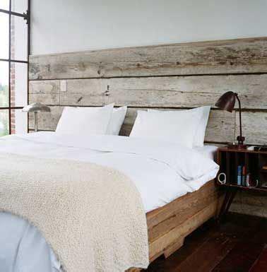 faire une tete de lit avec une planche en bois 10 astuces d 233 co pas ch 232 res pour fabriquer une t 234 te de lit