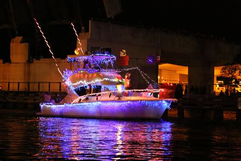 boca boat parade christmas in the sun wander the map