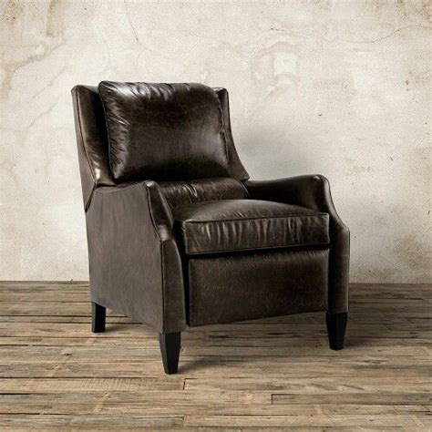 arhaus alex recliner alex leather 30 quot recliner in old west vintage house reno