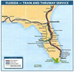 amtrak florida route map amtrak s florida routes in 2009 flickr photo