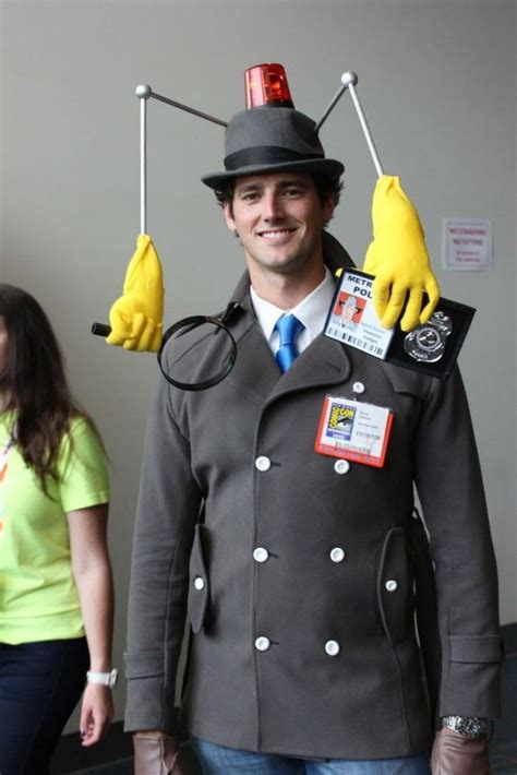 41 creative diy costumes for diy 41 awesome diy costumes for guys inspector gadget costume inspector gadget and gadgets