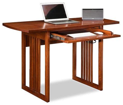 drop leaf desk with hutch leick home mission oak drop leaf computer desk view in