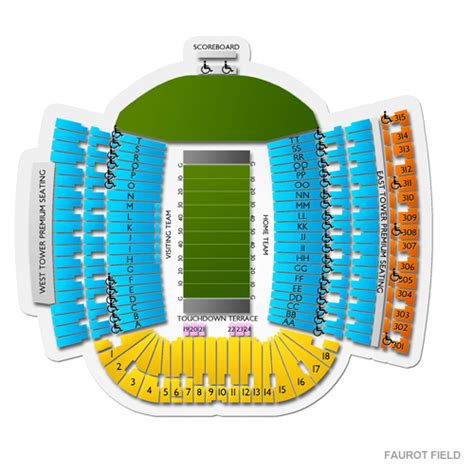 Mizzou Ticket Office by Faurot Field Tickets Faurot Field Seating Chart