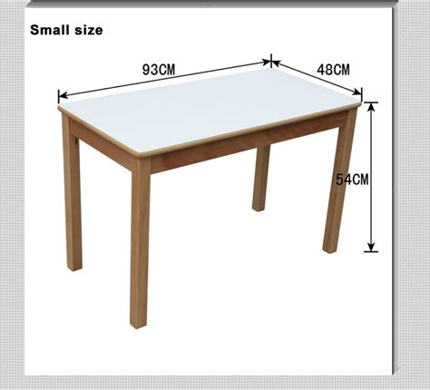 study table standard size children study table made of wood with tuv fertificate