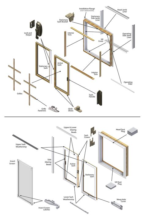 Spare Part Win replacement hung windows diagrams replacement