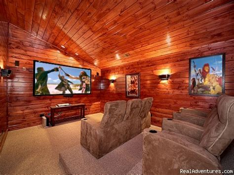 Rooms In Gatlinburg by Luxury Gatlinburg Cabins With Theater Rooms Vacation