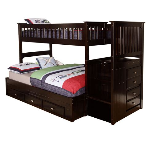 bed bunk kaitlyn bunk bed reviews wayfair