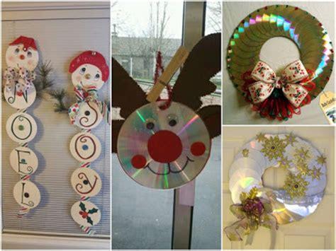 imagenes adorns navidad en miniatura 14 ideas para hacer adornos de navidad con cds solountip
