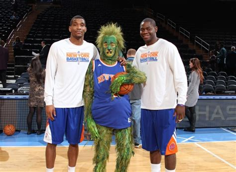 Grinch Square Garden by Photo Flash The Grinch Visits New York Knicks At