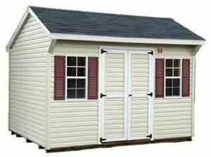 10x12 vinyl quaker storage sheds