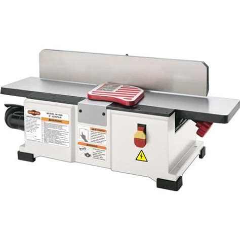 bench joiners shop fox w1829 6 quot jointer benchtop