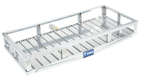 Aluminum Cargo Rack by Uws Uwscarrier Uws Aluminum 2 Quot Receiver Hitch Cargo Carrier Quadratec