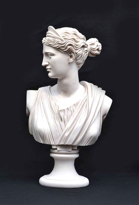 Regent Antiques   Marble   Stunning Marble Bust of Diana