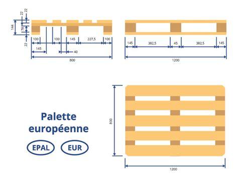 Canapé En Palettes by Dimension Des Palettes