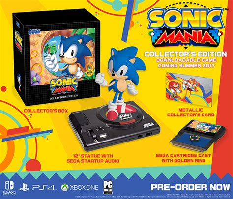 classic room s nintendo switch collector s review guide books sonic mania collector s edition for nintendo switch gamestop
