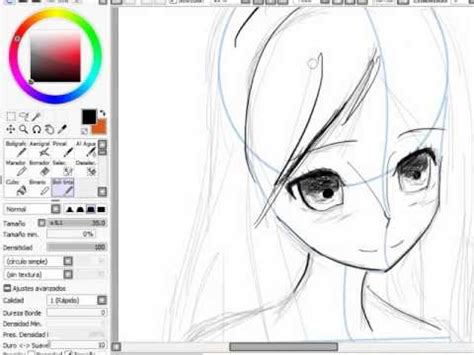 imagenes para perfil de animes aprender a dibujar anime pr 193 ctica de perfil 1 youtube