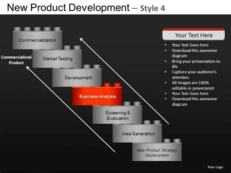 new layout ppt design new product development 4 powerpoint slides and ppt