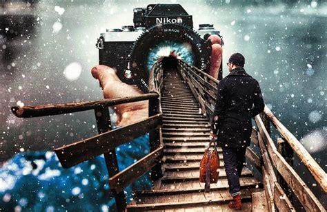 imágenes surrealistas fotomontajes grandiosos fotomontajes surrealistas hechos por justin main