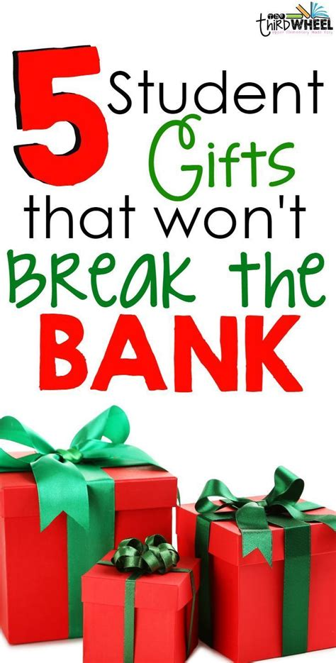 ideas for classroom christmas gifts for toddlers student gifts that won t the bank tpt blogs diy ideas students and gift