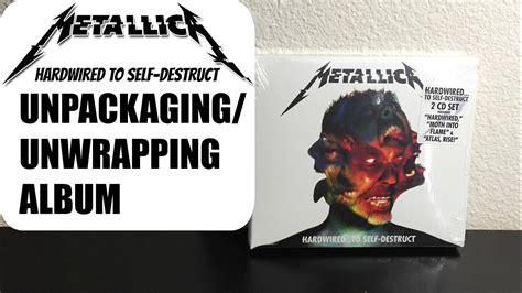 Cd Original Metallica Hardwired To Self Destruct Import unwrapping metallica s quot hardwired to self destruct quot album cd