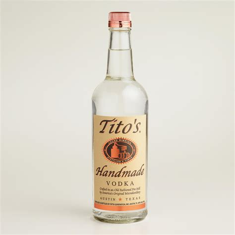 Titos Handmade Vodka Price - tito s handmade vodka world market