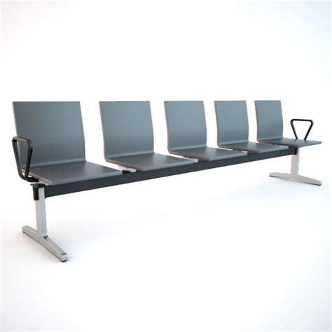 waiting area chairs 3d model vitra waiting chair 3d model max obj fbx