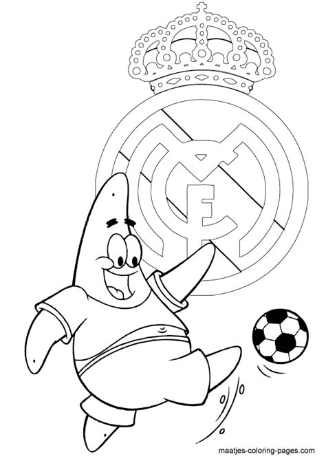 madrid cr7 pose coloring pages