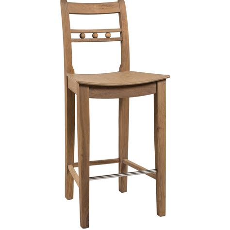 suffolk high back seasoned oak bar stool neptune