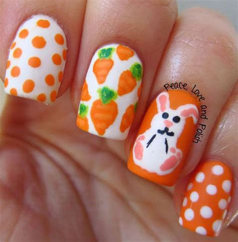 easter nail 10 easter acrylic nails designs ideas 2017