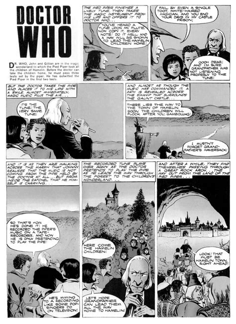 challenges of a doctor dr who in challenge of the piper