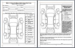 new car inspection checklist mike phillips vehicle inspection form autogeekonline gallery