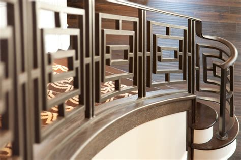 Chandeliers San Diego Close Ups Custom Iron Railing Traditional Staircase