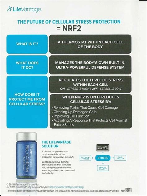 Protandim Detox Symptoms by 23 Best Lifevantage We Ve Got Science Images On