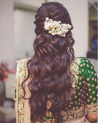 Indian Bridal Hairstyles With Flowers by Flower Arrangement For Bridal Hairstyle Threads